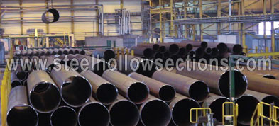 Mild Steel MS Round Hollow Section Suppliers Exporters Dealers Distributors in Silvassa